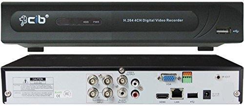 CIB J960H04N1000G 960H H.264 HDMI 4 CH Network Security Surveillance DVR Recording System w/ 1000GB HDD
