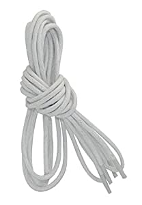 Round Shoelaces 2 Pair Pack Waxed Shoe Laces