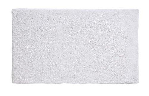 (Grund Puro Series 100% Organic Cotton Reversible Bath Rug 24-inch by 60-inch White)