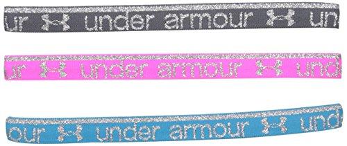 Under Armour Girls Silver Headband