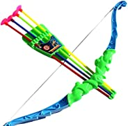 Sport Series Archery Shooting Set, Bow & Arrow Toy, Basic Archery Set Outdoor Hunting Game, Bow and Arrow