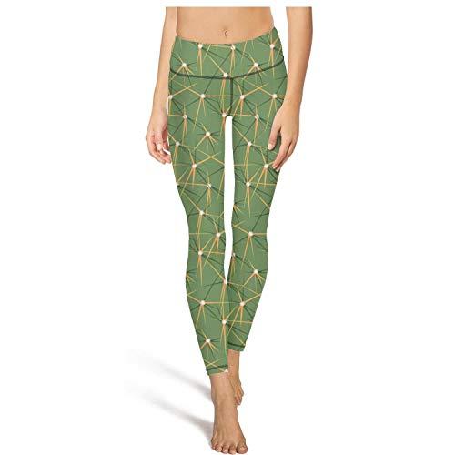 - XIdan-die Womens Yoga Pants Cactus thorns seamless Workout Running Leggings