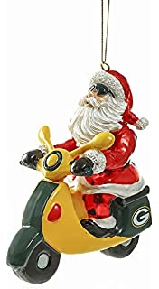 Amazon.com : Santa Gets There, Orn, Rocket Santa, Green Bay ...