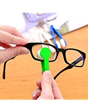 Mini Bril Brush Cleaning Tool, 5PCS Microfiber-bril Eenvoudig te dragen Glasreiniging Bril Tool