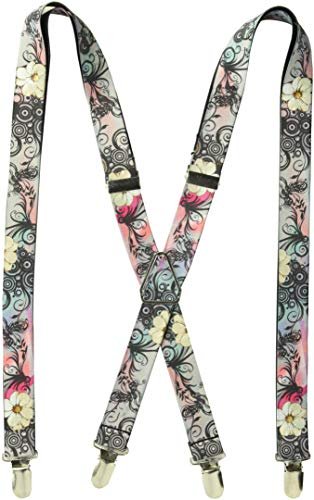 Buckle-Down Suspender - Floral -