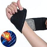 Kikole Self-Adhesive Magnetic Therapy Self-Heating Wristband Sports Hand Protection Hand & Wrist Braces