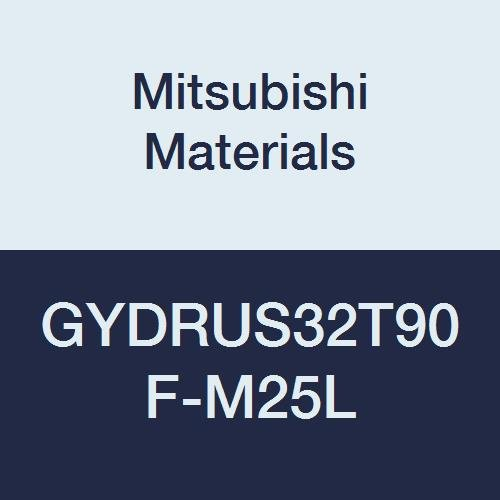 Mitsubishi Materials GYDRUS32T90F-M25L GY Series Modular Type Internal Grooving Holder with Left Hand M25 Modular Blade, Right Hand, 90° Angle, 3.25'' Neck, 2'' Height, 2'' Width, 12'' Length by Mitsubishi Materials
