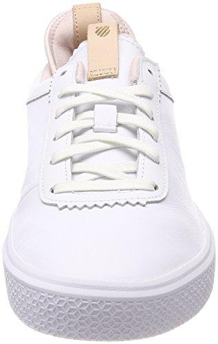 K-Swiss Dani, Sneakers Basses Femme, XX Blanc (White/Mauve Chalk)