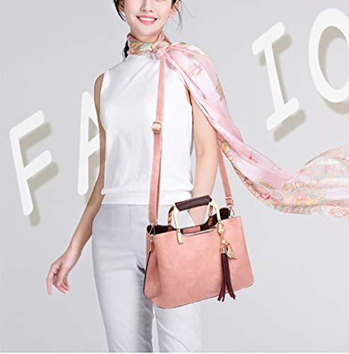 Secchiello Per In Flht Khaki Da A Tracolla Borsa Donna Viaggio Moda Mano Pelle Spalla Cosmetica wqqntOF0x