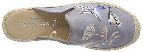 Tom Tailor Women's 4892901 Espadrilles Blue (Jeans) smEQX