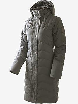 426872129d6 McKinley Women's Down Jacket Long Esmeralda Charcoal blue Navy Dark / Navy  Dark Size:22