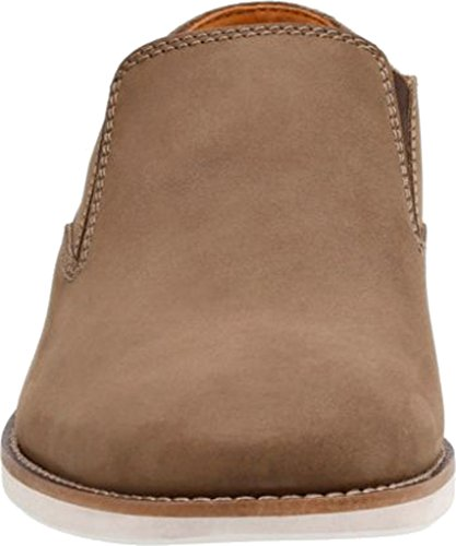 CLARKS On Loafer Slip Nubuck Stride Men's Brown Franson BxqHBr