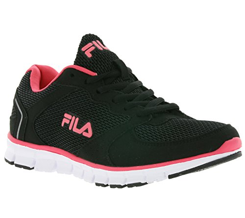 Fila Comet Run Low WMN, Baskets Femme, Noir Noir (Black)