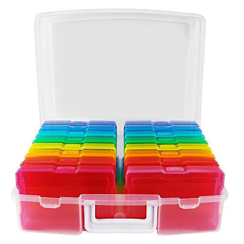 """Novelinks Photo Case 4"""" x 6"""" Photo Box Storage"""