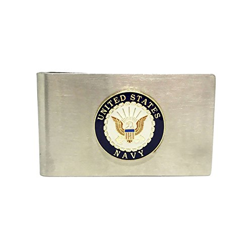 US Navy Money Clip - Cigar Cutters by Jim Money Clip
