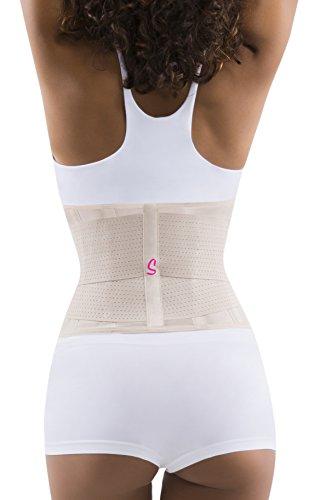 ff0675b3682 Sbelt Women s Waist Trainer Shapewear Belt – Slimming Body Shaper for an  Hourglass Shape (Beige