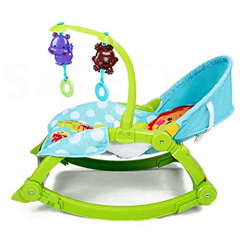 WY-Tong Baby seat Baby Rocking Chair, Multi-Function Baby Electric Shaking Chair Couch Baby Coax Sleeping Cradle All-Purpose Shaker Folding Comfort Chair