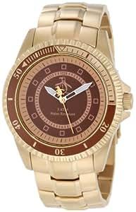 Original Penguin OP3022GD - Reloj analógico de cuarzo para hombre con correa de acero inoxidable, color dorado