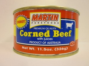 Martin Purefoods Chunky Corned Beef with Juices 326g Pack...