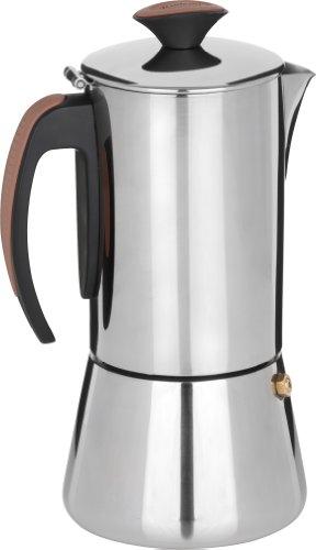 Trudeau Stainless Steel 16oz Espresso Maker