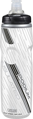 CamelBak 52467 Podium Big Chill Insulated Water Bottle, 25 oz, Carbon Cycling Water Bottle