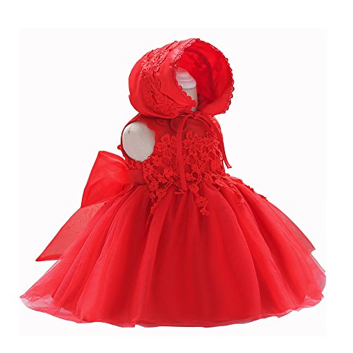 8eb41a770 LZH Baby Girl Dress Formal Christening Baptism Gowns Pageant Dress Toddler