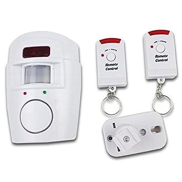LNIMIKIY - Alarma inalámbrica con sensor de movimiento, detector de movimiento antirrobo, sistema de alarma inalámbrico, fácil de instalar, cobertizo ...
