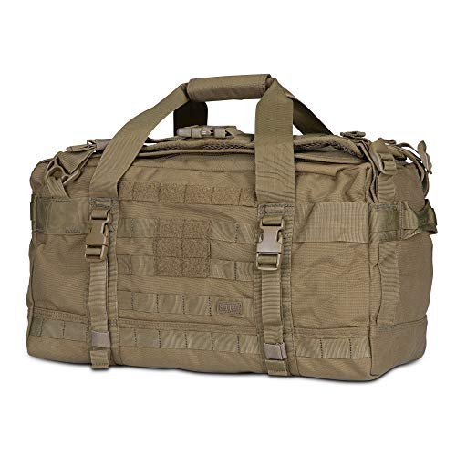 5.11 56293 Rush LBD Mike Molle Tactical Duffel Bag Backpack, Style 56293, Kangaroo
