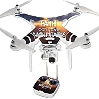 Skin For DJI Phantom 3 Professional – Move Mountains | MightySkins Protective, Durable, and Unique Vinyl Decal wrap cover | Easy To Apply, Remove, and Change Styles | Made in the USA