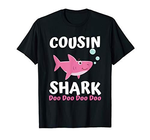 Cousin Shark Doo Doo Shirt Matching Family Shark Shirts Set T-Shirt