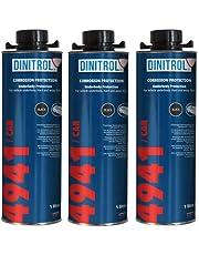 REJEL DINITROL 4941 ZWART ONDERBODY WAX 3 x 1 liter blikjes (met Schutz stijl schroefdop)