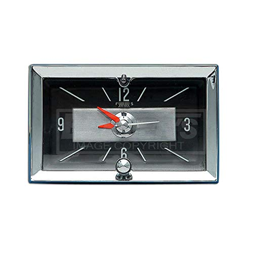 - Eckler's Premier Quality Products 57-130887 Chevy Clock, Quartz,