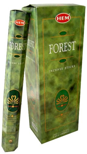 Hem Forest Incense Sticks (6 Packets Of 20 Sticks Each)