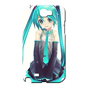 samsung note 2 Abstact Top Quality fashion mobile phone carrying shells hatsune miku