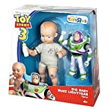 DISNEY PIXAR TOY STORY 3 EXCLUSIVE DELUXE ACTION FIGURE BIG BABY AND BUZZ LIGHTYEAR