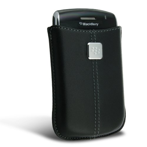 Blackberry 8520 Pocket (BlackBerry HDW-19862-001 Leather Pocket Pouch Case For BlackBerry Curve 8520/8900 - Black)