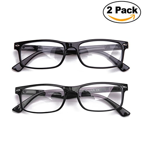 cd6d901489e Newbee Fashion - Unisex Translucent Simple Design No Logo Clear Lens Glasses  Squared Fashion Frames - Buy Online in Oman.