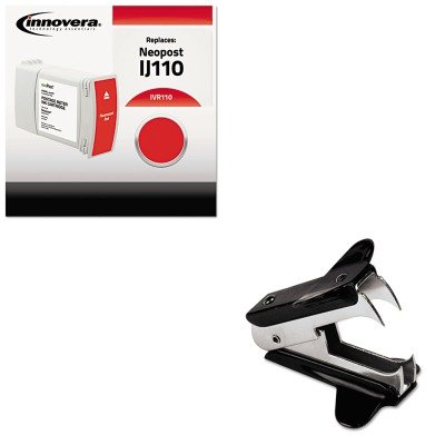 KITIVR110UNV00700 - Value Kit - Innovera 110 Compatible (IVR110) and Universal Jaw Style Staple Remover (UNV00700)