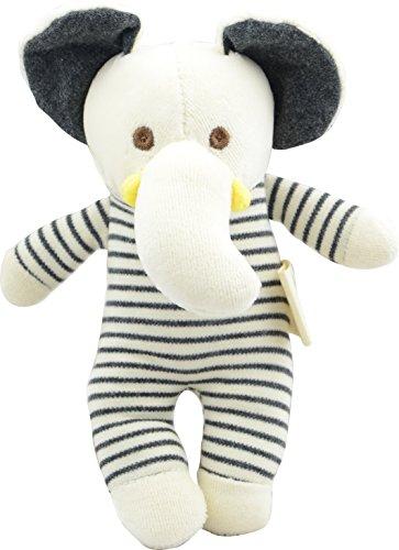 NIC Plush Toy, Dye Free Natural Hue, Elephant, Bunny Doll (Elephant) (Organic Elephant)