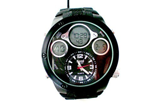 Sami RSM-77752-3 Reloj Dual Digital Analogico Modulo Especial Water Resistant 30m: Amazon.es: Relojes
