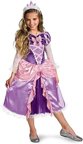 Rapunzel Shimmer Deluxe Costume - (List Of Disney Halloween Movies)