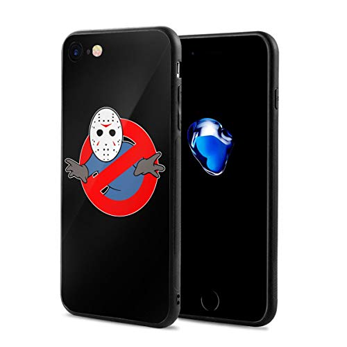 Cheny Bumper Cover Ghostbusters Jason Voorhees for iPhone 7/8,Full Protective,Anti-Scratch Back Black,Drop Protection,Cushion Frame]()