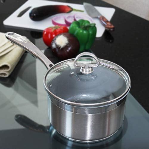 Chantal SLIN35-162C Saucepan, 2 quart, Stainless Steel