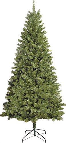 Santa Christmas Tree Forest - Santas Forest Holiday Basix Douglas Fir Tree 7 Ft H