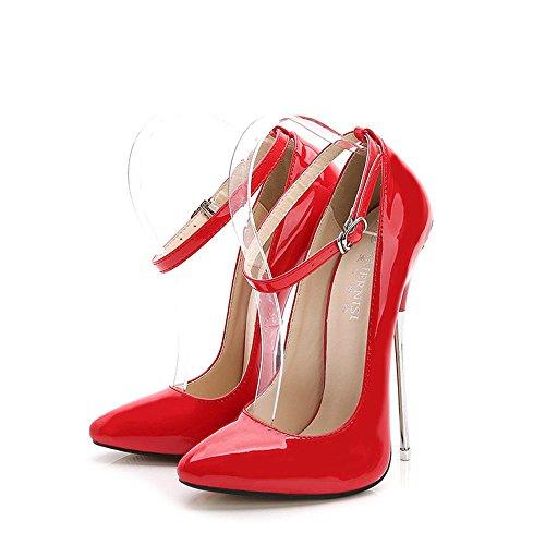 Chaussures Talons De Ggxheel Fête À Femmes Mode Hauts Mariage Fermée Sexy Soirée Pour 42 Aiguilles dCnnF