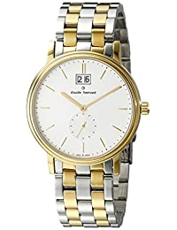 Claude Bernard Men's 64011 357J AID Classic Gents Analog Display Swiss Quartz Two Tone Watch