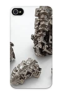 taoyix diy Iphone Case - Tpu Case Protective For Iphone 4/4s- Bismuth Crystals
