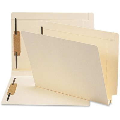 SMD34276 - Smead 34276 Manila End Tab Fastener File Folders with Reinforced Tab by Smead