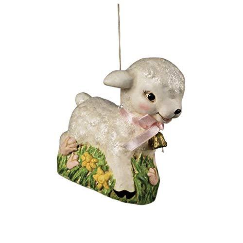 Largemouth Bethany Lowe Retro Baby Lamb Easter Ornament