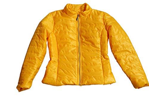 Piumino Gelb Giacca Lunga Moda24 Donna Manica 45Zw7nqp